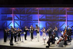 Répétition du concert du 30 janvier au Rosey Concert Hall